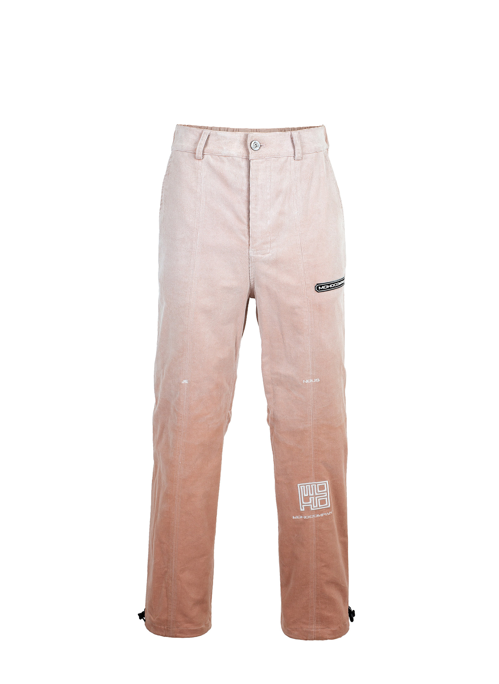 SNOW GRADATION CORDUROY PANTS